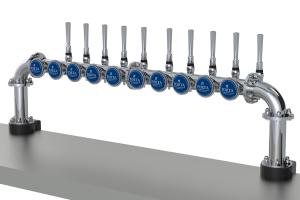 Multi beer dispense, Beer font, Drink dispense
